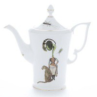 Ali Miller London — coffee pot - band lady