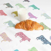 Ali Miller London — tea towel - cows