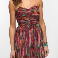 Urban Outfitters - Jack By BB Dakota Ruched Bodice Strapless Dress