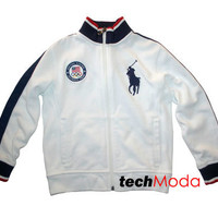 Polo Ralph Lauren Boy Olympic Team 2012 Big Pony USA Official Outfitter Jacket 6