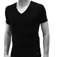Calvin Klein? 3 Pack V-Neck tshirt Black