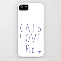 CATS iPhone Case by Danielle Marie | Society6