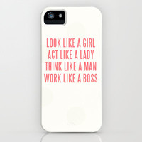 Boss iPhone Case by Wesley Bird | Society6