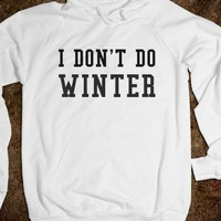 I DON'T DO WINTER - glamfoxx.com