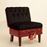 Suitcase Chair ? Red Skinny ? Seating ? Recreate