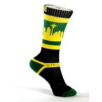 Amazon.com: Strideline Socks / Sea Town / Black Sonic / Strapped Fit: Sports & Outdoors