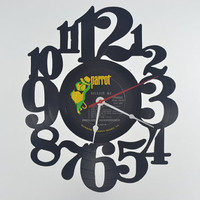 Retro Wall Clock (artist is Engelbert Humperdinck