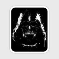 Darth Vader Star Wars sticker by purplecactusdesign on Etsy