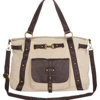 Talia Canvas Tote at Alloy