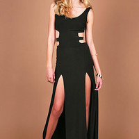 Damsel Slit Maxi Dress | Edges Maxi Dresses at Pink Ice