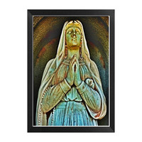 Gothic Dark Art, Mother Mary, Virginia 4x6 Fine Art Print, Cemetery Art, Ready to Frame