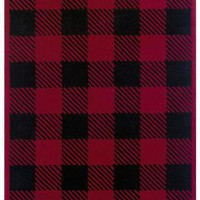 Checkers Rug | HomeDecorators.com