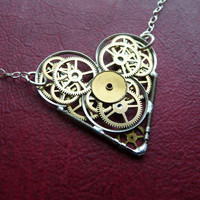 Clockwork Heart Necklace Atrium by amechanicalmind