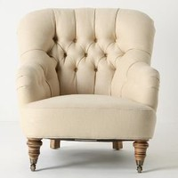Linen Corrigan Chair - Anthropologie.com