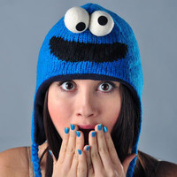 Cookie Monster Sesame Street Hat