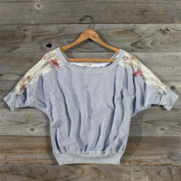 Lace Comforts Sweater