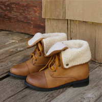 Summit Cuffed Boots