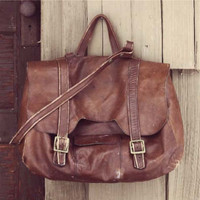 Vintage 70's Saddle Bag