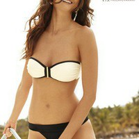 Betsey Bandeau  Banded Bottom - Vix - Swimwear