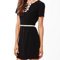 Darted Sheath Dress