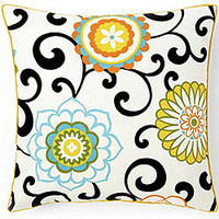 Jiti Pillows 'Ply Confetti' 20-inch Square Cotton Decorative Pillow | Overstock.com