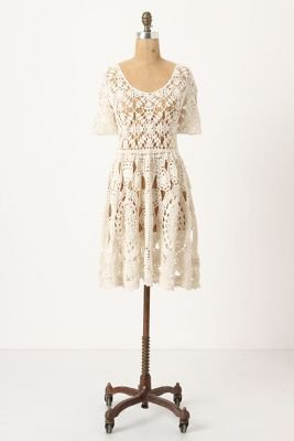 Hand-Crocheted Mini-Dress - Anthropologie.com