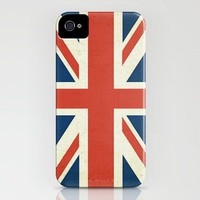 Union Jack - U.K. Flag (Slightly Distressed) iPhone Case by Laura Ruth  | Society6