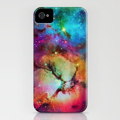 Trifid Nebula iPhone Case by Starstuff | Society6