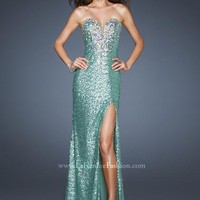 La Femme 18456 at Prom Dress Shop