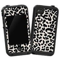 "Black and White Leopard ""Protective Decal Skin"" for LifeProof 4/4S Case:Amazon:Cell Phones & Accessories"