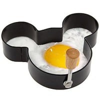Amazon.com: Disney's Mickey Mouse Egg Ring: Kitchen & Dining