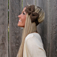 Barley Bow Headband With Natural Ve.. on Luulla