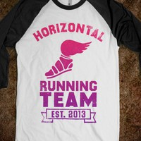 Horizontal Running Team (Baseball Shirt)