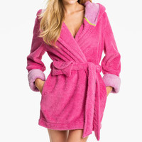 Steve Madden 'Pattern Play' Fluffy Lurex® Robe | Nordstrom