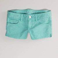 AE Colored Denim Shortie | American Eagle Outfitters