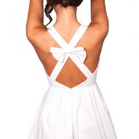 Doll House dress in white  | Show Pony Fashion online shopping