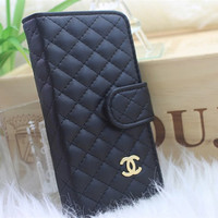handmade Leather wallet iphone 5 case iphone 4 case iphone 4s case samsung galaxy s3 case  cases black white pink blue red brown