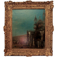 David Weatherford Antiques & Interiors - Canaletto school pa... - Polyvore
