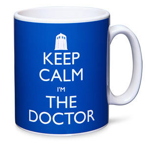 ThinkGeek :: Doctor Who Keep Calm I'm The Doctor Mug