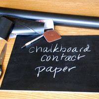 Amazon.com: Chalkboard Contact Paper, 18 x 6&amp;#39;: Industrial  Scientific