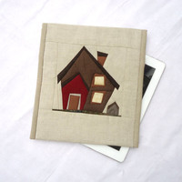 iPad case / iPad cover / iPad sleeve / iPad 1,2,3 case / iPad 2 case - House