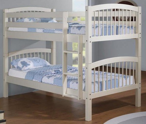 Hannah White Bunk Bed