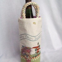 Spring Gift and Bottle Bag great for Easter or Baby Shower