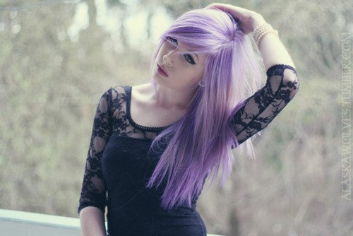 "12"" Pastel Purple Lavender Clip In Human From"