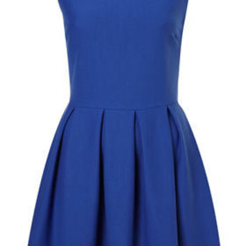 Structured Skater Dress - Dresses  - Apparel  - Topshop USA
