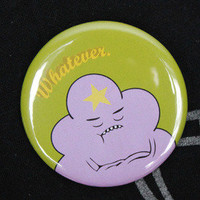 "Bayleaf Buttons — Adventure Time 2.25"" Pins or Mirror"
