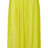 Pleat Calf Skirt - Skirts  - Apparel  - Topshop USA
