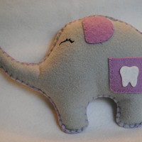 Tooth Fairy  PillowSweet Lil&#x27; Ellie Elephant by memeandsaysay