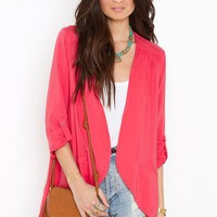 Boardwalk Blazer in  What's New at Nasty Gal