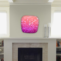DENY Designs Home Accessories | Lisa Argyropoulos Berrylicious Modern Clock